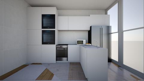 cozinha - Glamour - Kitchen - by andreiasi