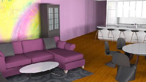 apartment 2 - Modern - Living room - by aasemor