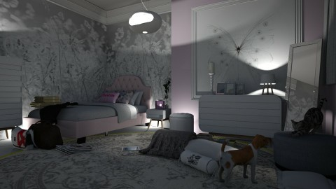 08012018 - Modern - Bedroom - by matina1976