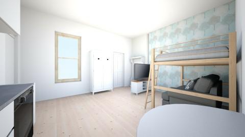 airbnb - Living room - by kesdorka