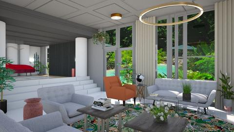 My Love Plantae - Living room - by timeandplace