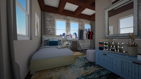 NYC Small Bedroom - Classic - Bedroom - by paluvica