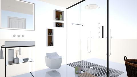bano segundo  diseng - Country - Bathroom - by Danielaarquitecta