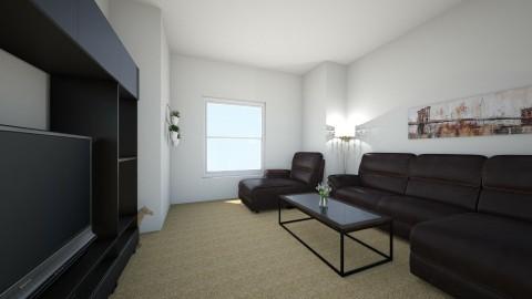 living room Q - Living room - by Sadie Lin