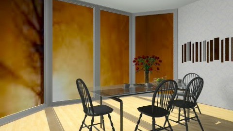 autumn 3 - Dining room - by anjapolly