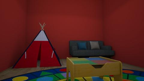 Keyandria playroom - Bedroom - by Teacher Tita