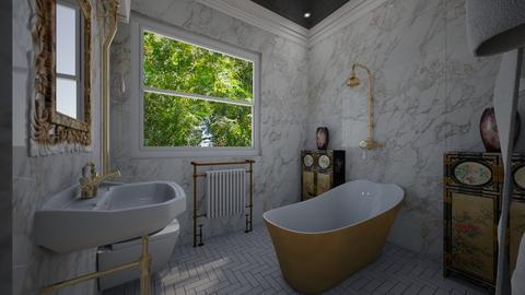Came Brea Bathroom gold - Bathroom - by Lisett
