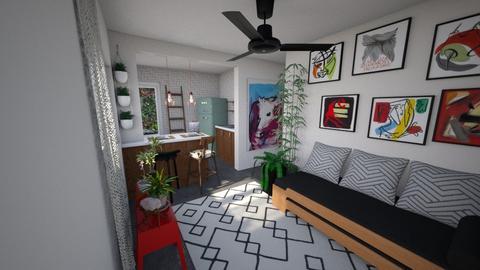 00201 - Living room - by jupitervasconcelos