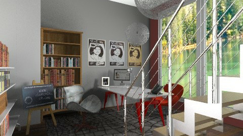 design and style - Modern - Office - by sahfs