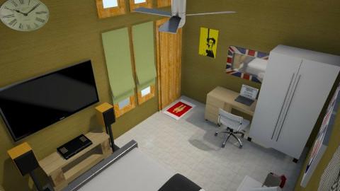 gold e pop 1 - Minimal - Bedroom - by herjantofarhan