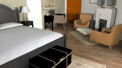 ici block b p 5 beige - Country - Bedroom - by mehar