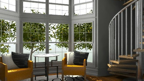 sitting area - Modern - Living room - by 2f5fe43g