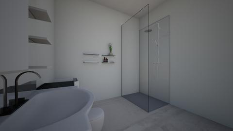 Modern Bathroom - by Kingfai