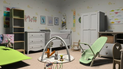 Baby nusery - Classic - Kids room - by Jazzy9