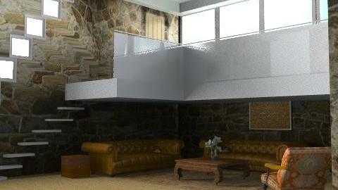 BarnConversion - Rustic - Living room - by camilla_saurus