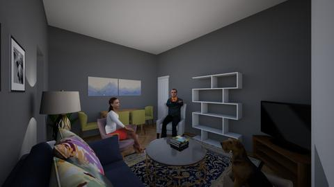 new living room - Living room - by Delly