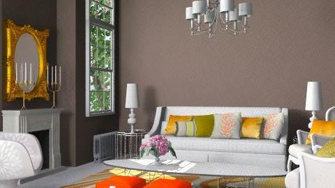 Retro Brown - Retro - Living room - by 3rdfloor