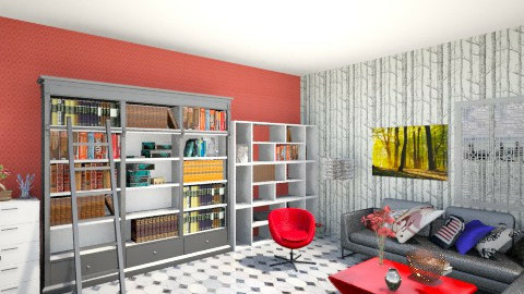 LIVING ROOM  - Modern - Living room - by ashlii95