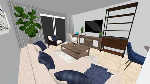 Sarah Apt 3 Living Room 2 - Living room - by emmanuelmanny