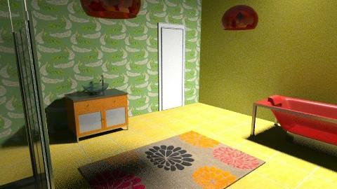 Retro colour - Retro - Bathroom - by tillsa98