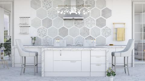 Marble - Kitchen - by ArtHousedeco