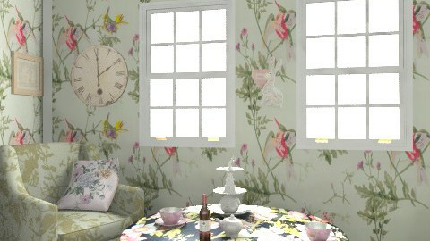 tea time - Vintage - Living room - by cutypie1
