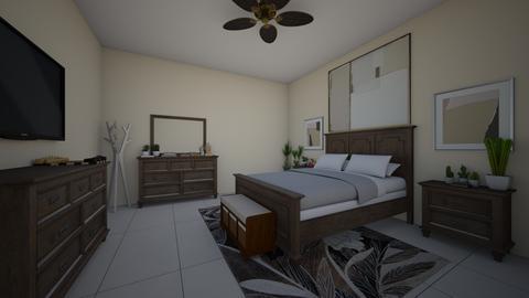 desert plant brown theme - Modern - Bedroom - by jade1111