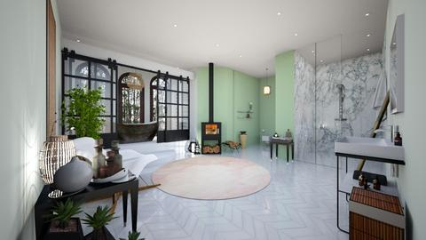Bamboo Room - Modern - Bathroom - by Iodid