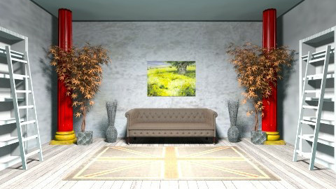 empty room - Vintage - Living room - by andreamar