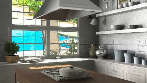Family Home - Kitchen 3 - Classic - Kitchen - by LizyD
