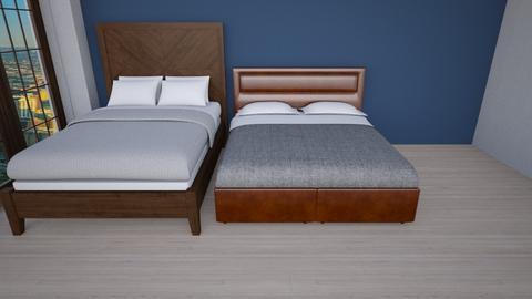 Mid century carmel - Bedroom - by Moonpearl