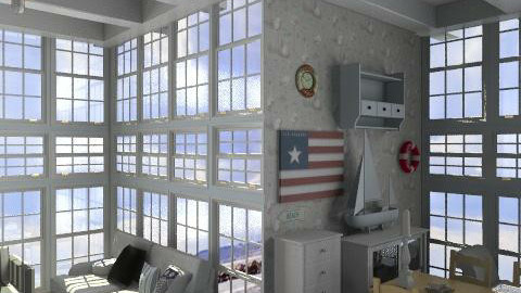 New England Beach house - Country - Living room - by rosiedoll