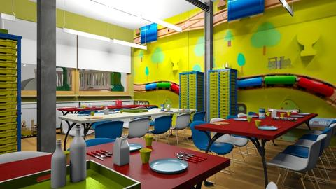Primary School Canteen - by LARV