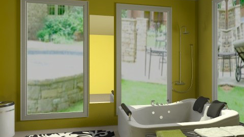 Tub Room - Modern - Bathroom - by jessicalove