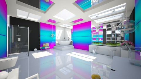 clinacly fun - Modern - Bathroom - by sometimes i am here