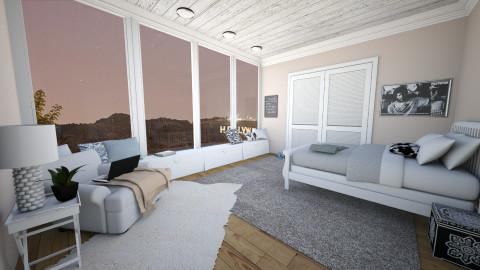 million dollar view - Bedroom - by carli1504