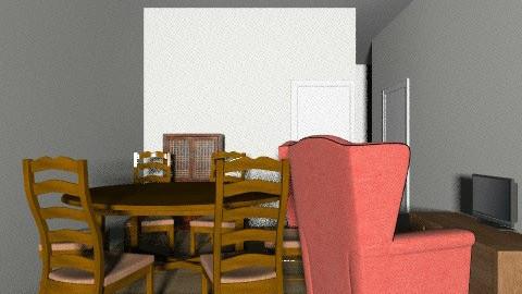 23 - Rustic - Dining room - by ranya_ahmed