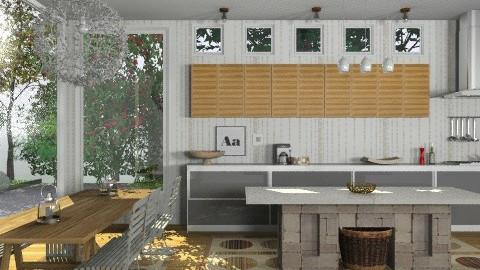 Random Spaces - Modern Kitchen - Modern - Kitchen - by LizyD