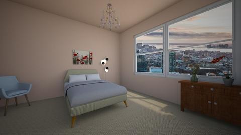 Poppies - Retro - Bedroom - by Twerka