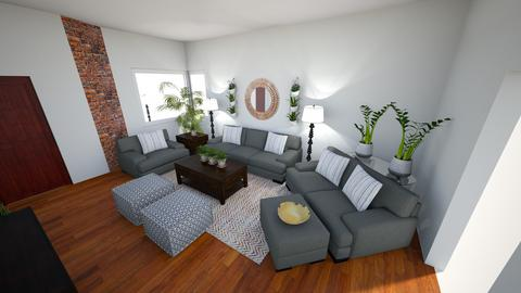 LS for Jennifer n Justin - Living room - by TheDutchDesigner