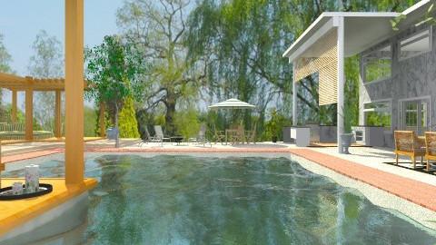 Summer in the Backyard - Modern - Garden - by Bibiche