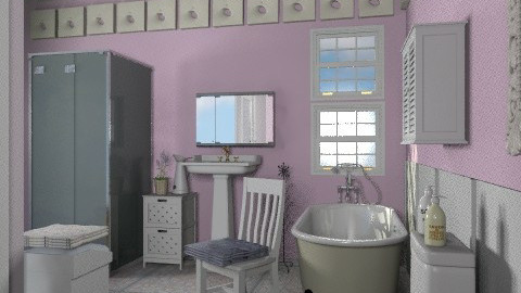 Violet_2 - Classic - Bathroom - by milyca8
