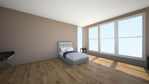 Bedroom Angle 1 - Minimal - Bedroom - by gerlukavich