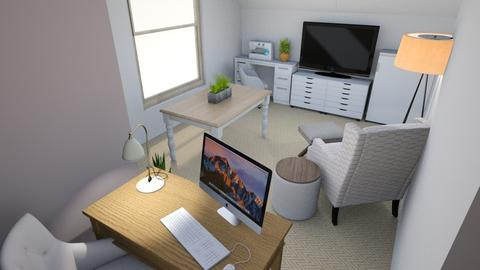 Attic Office Reno 2 - Office - by stephz