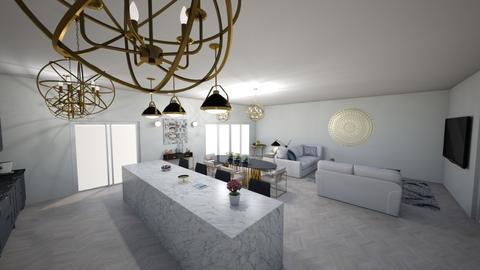 jhk - Living room - by dorotazulczyk1
