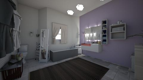 My bathroom - Modern - Bathroom - by Zaria UwU