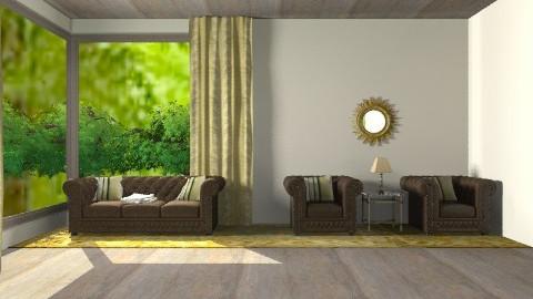 golden living room - Living room - by 2f5fe43g