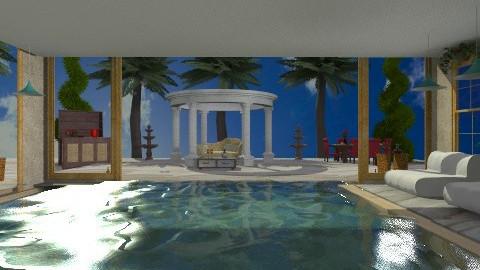 Beach house on Galveston - Glamour - Garden - by wiljun