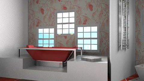 bathroom q - Minimal - Bathroom - by natalia20po