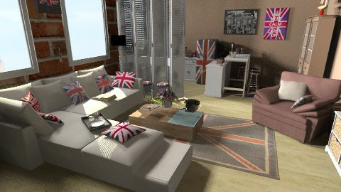 LOFT - Global - Living room - by Anna Rainbow